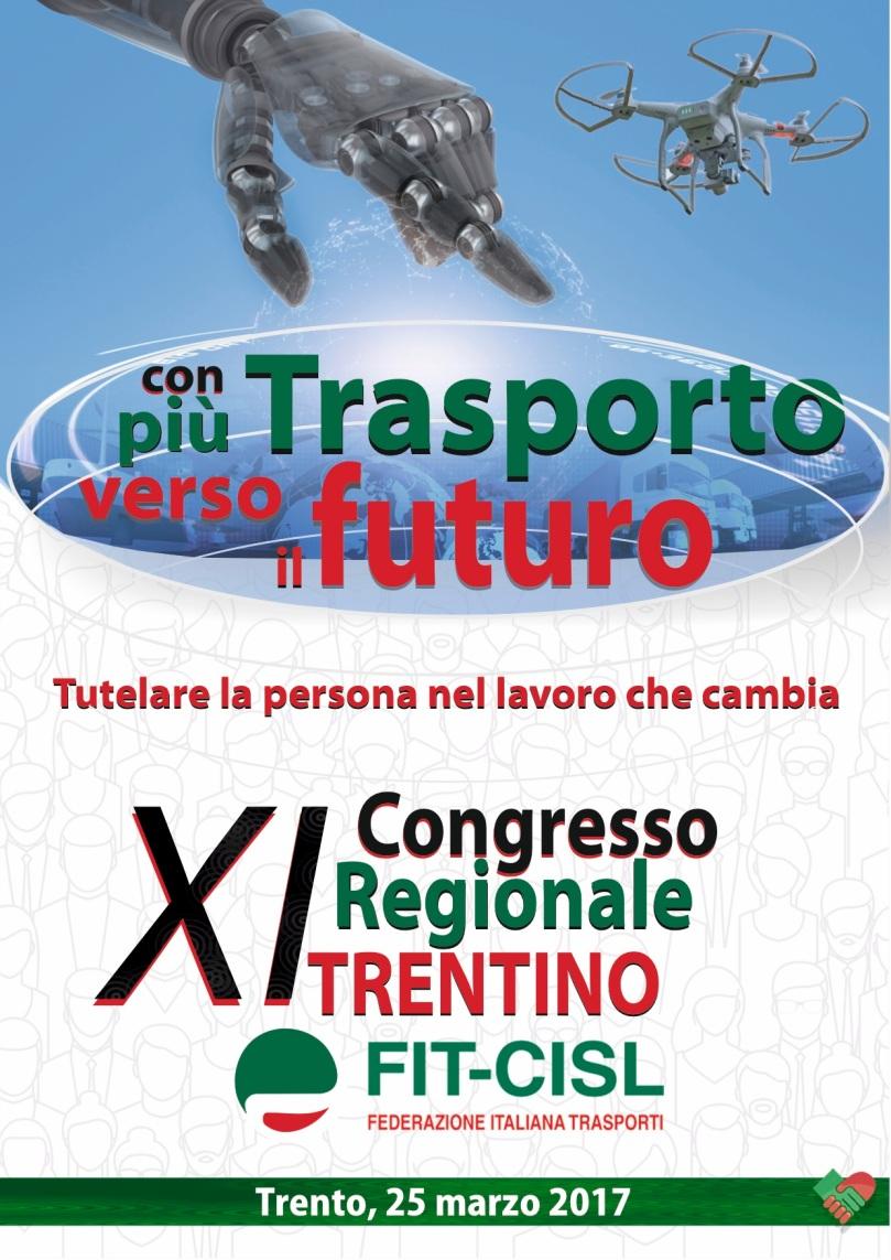 Manifesto XI° congresso FIT-CISL del Trentino